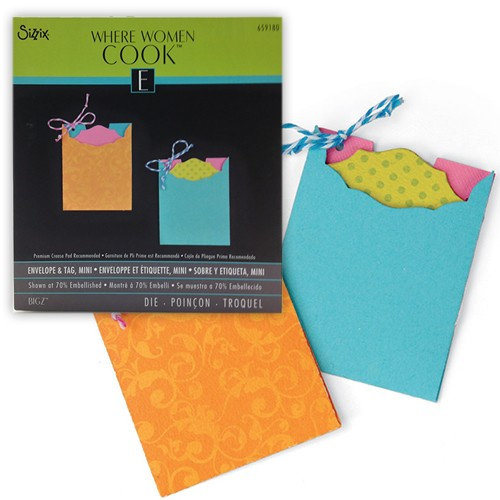 Sizzix Bigz Die - Envelope & Tag, Mini by Where Women Cook