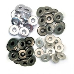Eyelets Wide Cool Metal