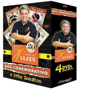 BOX 20 ANOS - VLADY ENSINA - 4 NOVOS CURSOS