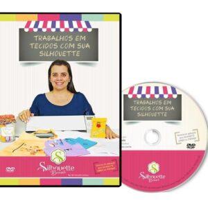 DVD Trabalhos com Tecidos com a Silhouette - Silhouetteira Voadora