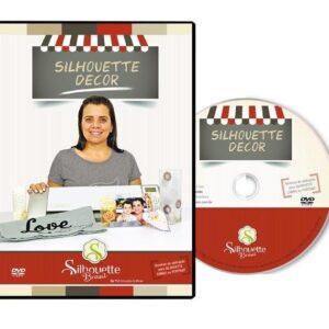 DVD Silhouette DECOR com a Silhouetteira Voadora