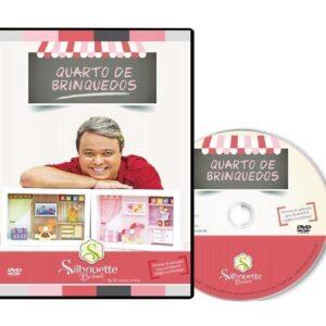 DVD Silhouette Quarto de Brinquedos com Vlady