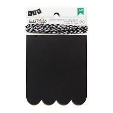 Banners - AC - DIY Shop - 3.5x4.5 – Scallop – Chalkboard