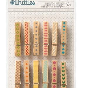 Clothespins - Whittles - Style - Medium - 12 Count
