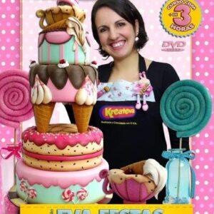 DVD Amanda Pin - EVA FESTAS CANDY PARTY