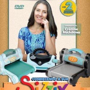 DVD Conhecendo sua Sizzix - Curso Oficial Brasil