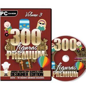 300 Figuras Premium para Silhouette - Volume 3