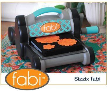 Sizzix Big Shot Fabric Starter Kit (Powder Blue & Teal) by Ellison