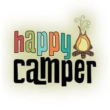 Carimbo - Happy Camper