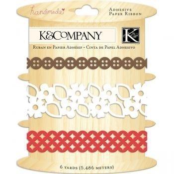 Handmade Adhesive Paper Ribbon