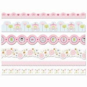 Belle of the Ball Strip Border Stickers