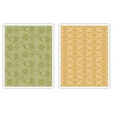 Textured Impressions - Flowers & Pears Set by BasicGrey