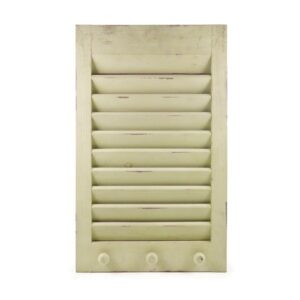 Shutter Memo Holder-Cream Light Distress