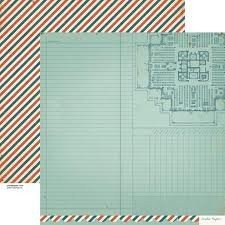 Papel para scrapbooking Crate Paper Document