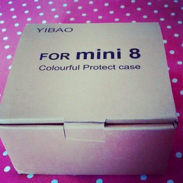 Case acrílica ou cristal rígido para sua Instax Mini 8