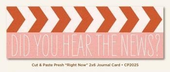 Journal Card 2x6 - Right Now