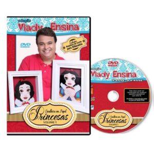 Vlady Ensina - Princesas - Escultura em Papel Volume 1 - Pré Venda
