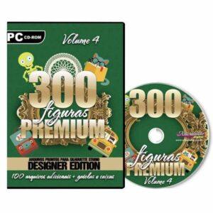 300 Figuras Premium para Silhouette /SCAN N CUT/ CRICUT- V. 4