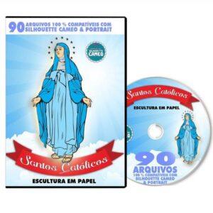90 Santos Catolicos para Silhouette / Scan n Cut / Cricut