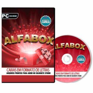 Alfabox - Alfabeto em formato caixa para Silhouette