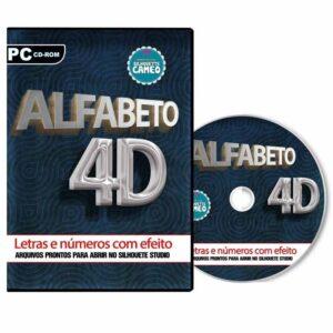 Alfabeto 4D para Silhouette