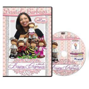DVD Dani Barboza - Bonecas Charmosas em EVA 3D