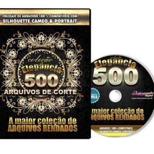 500 Arquivos Rendados para Silhouette / Scan n Cut / Cricut
