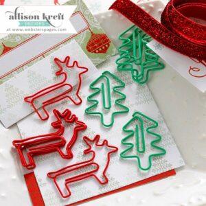 Tree&Reindeer Paperclips