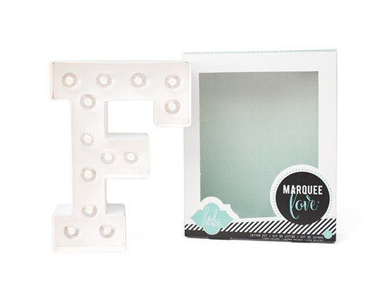 Marquee Letters - HS - F