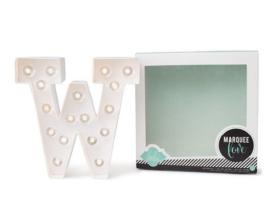 Marquee Letters - HS - W