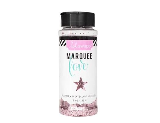 Marquee Glitter - HS - Chunky Glitter Jar - Light Pink (3 oz)