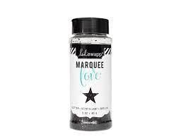 Marquee Glitter - HS - Chunky Glitter Jar - Black (3 oz)