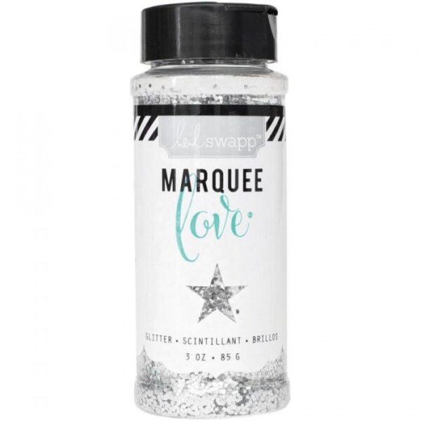 Marquee Glitter - HS - Chunky Glitter Jar - Silver (3 oz)