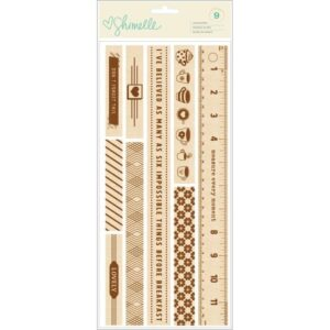 Embellishments - AC - SL - True Stories - Wood Borders (9 Piece)