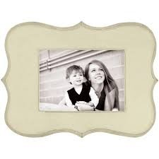 Decorative Wooden Frame Cream 12.5x9