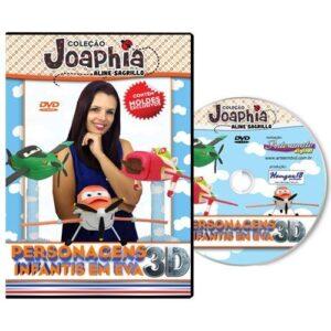 Coleção Joaphia - Personagens em EVA 3D - Aviões