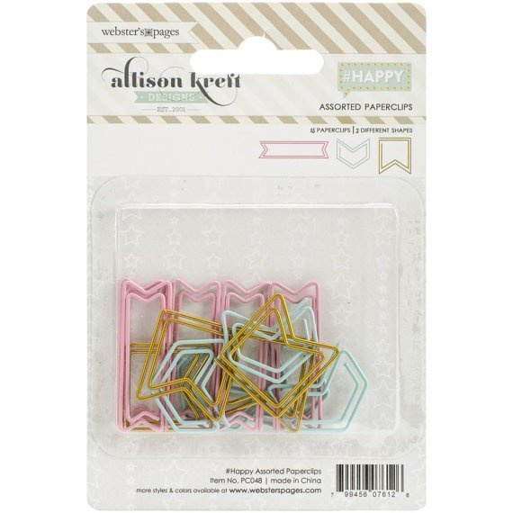 Happy Paperclip Assorted Pack