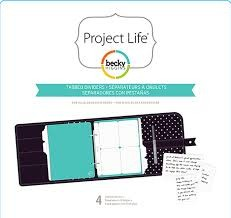 Project Life - 6 x 8 - Tabbed Dividers (4 Piece)