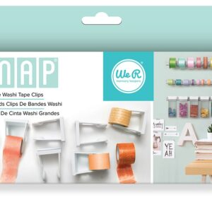 Washi Tape Clips - We R - Snap Storage - Large (6 Piece)