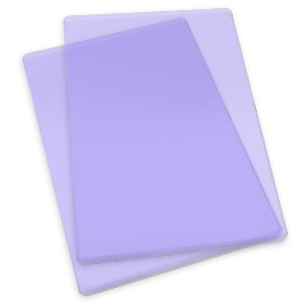 Sizzix Accessory - Cutting Pads, Standard, 1 Pair (Grape)