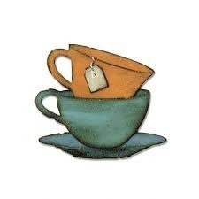 Sizzix Bigz Die - Tea Time by Tim Holtz