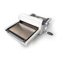 Sizzix Big Shot Pro Machine Only (White & Gray) w/Standard Accessories by Ellison