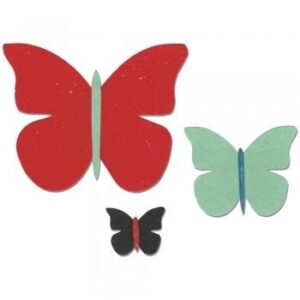 Sizzix Bigz Die - Butterfly Trio by Echo Park Paper Co.