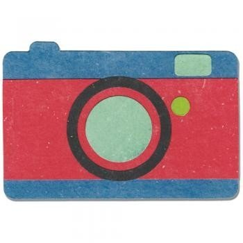 Sizzix Bigz Die - Camera 2 by Echo Park Paper Co.