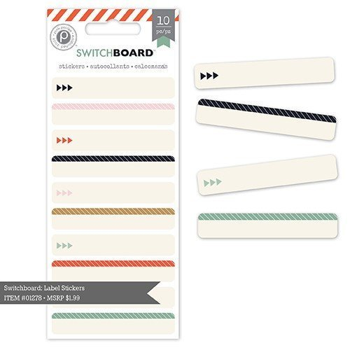 Stickers - Switchboard - Cardstock Label
