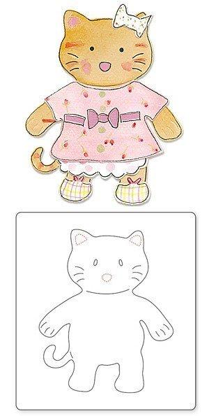 Animal Dress Ups Kitty by Dena Designs