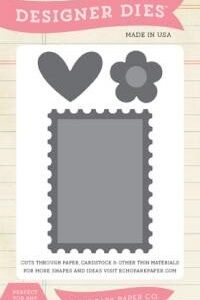 Die Small - Postage Stamp Set