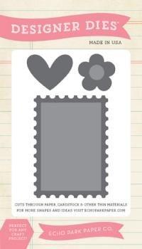 Die Small - Postage Stamp Set