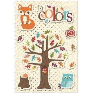 Canvas Sticker - Fall Colors