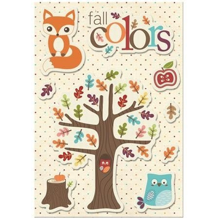 Canvas Sticker - Fall Colors